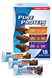 Pure Protein Bars, High Protein, Nutritious Snacks to Support Energy, Low Sugar, Gluten Free, V…