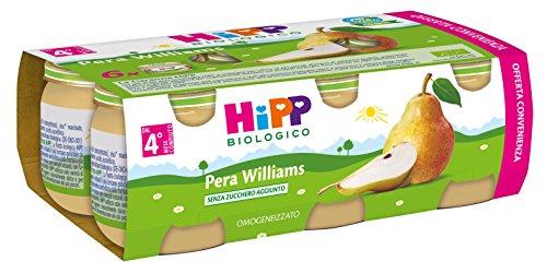 Hipp Omogeneizzato Multipack Pera Williams - Confezione 6 x 80 g