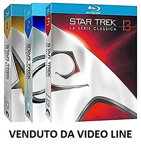 Star Trek - La Serie Classica - Stagione 1-2-3 (20 Blu Ray) VENDUTO SPEDITO DA VIDEO LINE