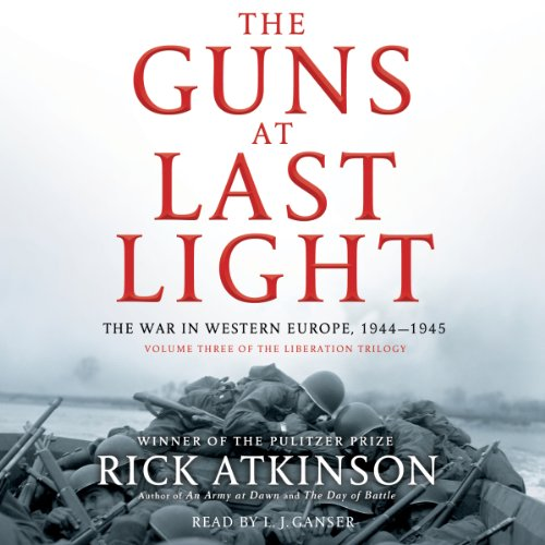 The Guns at Last Light audiobook cover art