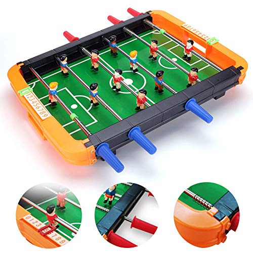 Review Mini Football Game ABS Lightweight Portable Soccer Competition Table Top Game Classic Novelty...