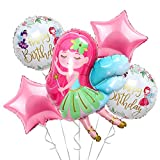 Fairy Princess Party Decorations Balloons for...