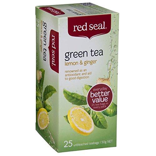 Lemon & Ginger Green Tea 25 Teabags