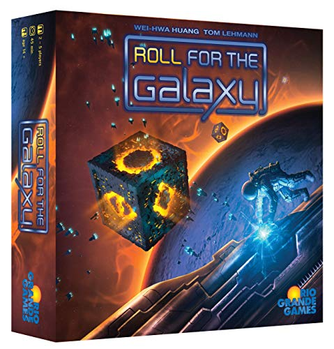 Rio Grande Games 492 Roll for the Galaxy (Toy)