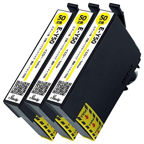 ICY50 3本 エプソン用インクカートリッジ 互換インク (最新ICチップ搭載/残量検知対応/デジタル説明書付き(QR)) 対応機種:EP-301 EP-302 EP-4004 EP-702A EP-703A EP-704A EP-705A EP-774A EP-801A EP-802A EP-803A EP-803AW EP-804A EP-804AR EP-804ARU EP-804AU EP-804AW EP-804AWU EP-901A EP-901F EP-902A EP-903A EP-903F EP-904A EP-904F PM-A820 PM-A840 PM-A840S PM-A920 PM-A940 PM-D870 PM-G4500 PM-G850 PM-G860 PM-T960 ふうせん ICY50 【インクのStudy2年保証】国内再検品梱包