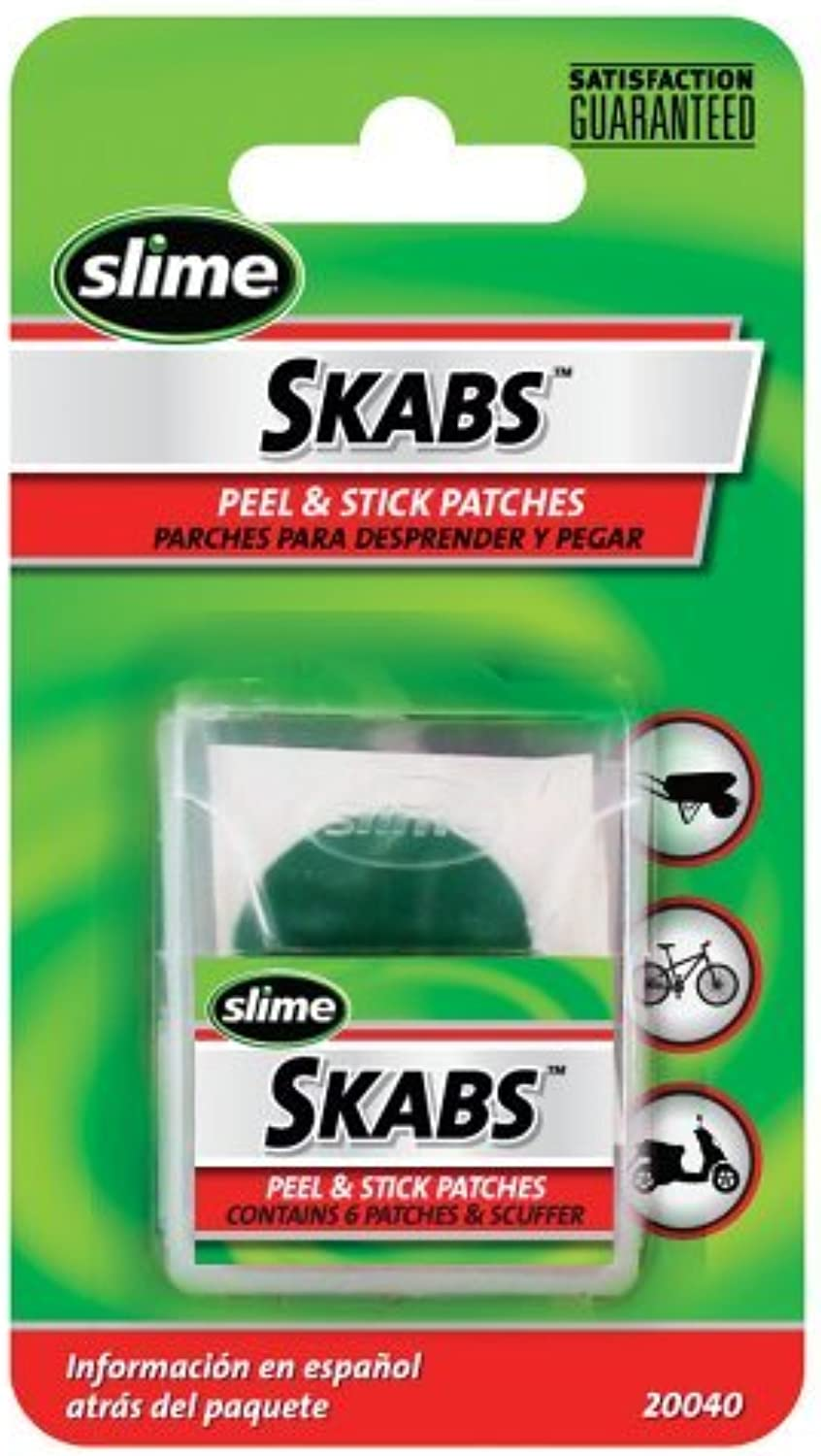 Slime Skabs Glue Less Carded Patch Kit by Slime