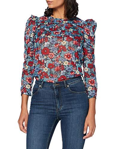 Pepe Jeans Loren Blusa  Multicolor (0AA)  Medium para Mujer