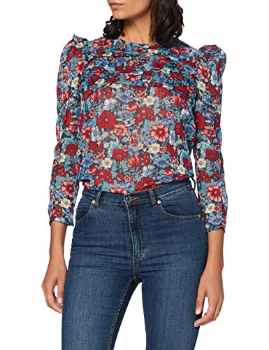 Pepe Jeans Loren Blusa, Multicolor (0AA), Large para Mujer