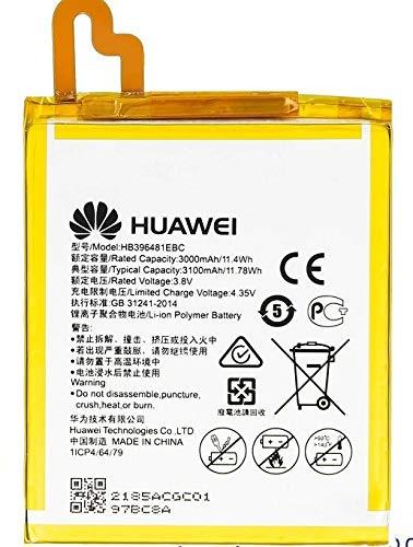Batería para Huawei Y6 II 2 CAM-L21 HB396481EBC 3000 mAh 3,8 V batería Li-Ion original