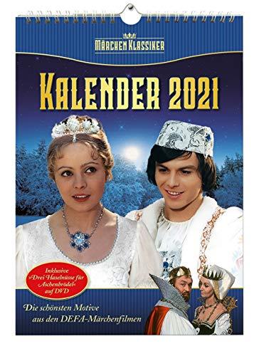 DEFA Märchen Klassiker-Kalender 2021 (Inklusive DVD)