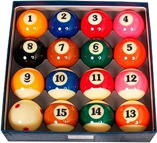 50.8MM jaunes avec /à rayures Boule 8 boules de billard PREMIER PRO COUPE Addition REDS Aramith 2