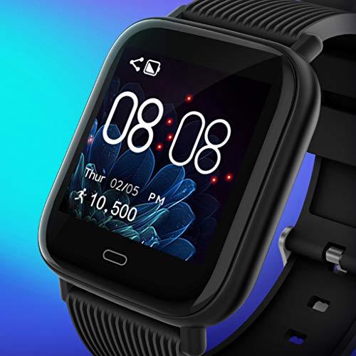 Ixkbiced G20 Colorful Screen Smart Wristband Watch Band IP67 Waterproof Bracelet Pedometer Heart Rate Monitor Blood Oxygen Sports Fitness Tracker