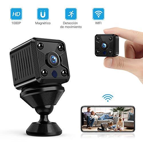 Cámara espía FREDI HD 1080P WiFi Cámara Video cámara Oculta Mini Cámara de vigilancia inalámbrica Seguridad para Interiores Visión Nocturna