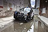 Polizei Auto Police Polizeiwagen XXL Wandbild Kunstdruck
