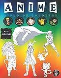 Anime Libro de Colorear: Anime Manga Colorante para Niños, Adultos y Adolescentes +200 Ilustraciones de Personajes de Los 5 Famosos Animes y Manga ... + POKÉMON + ONE PIECE + HUNTER X HUNTER).
