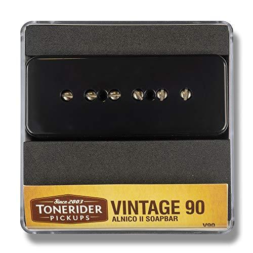 Tonerider Vintage 90 Soapbar P90 Bridge pickup - black