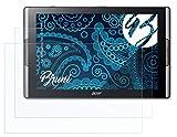 Bruni Schutzfolie kompatibel mit Acer Iconia Tab 10 A3-A50 Folie, glasklare Bildschirmschutzfolie (2X)