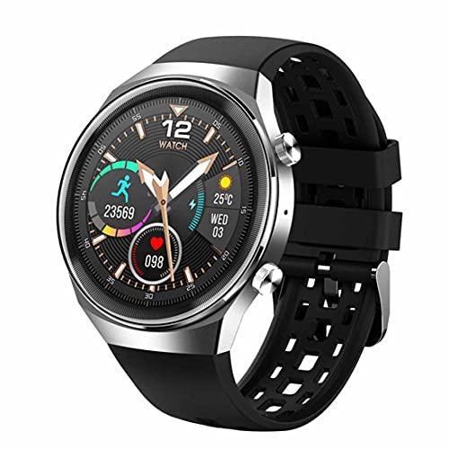 XHJL Relojes Inteligentes Rastreador de Ejercicios Pantalla táctil Completa Presión Arterial Sueño Monitor cardíaco Reloj Deportivo Impermeable IP67 Podómetros para Android iOS,Unisex