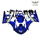 NT FAIRING Blue White Injection Mold Fairing Fit for Yamaha YZF 2003-2005 R6 & 2006-2009 R6S New Painted Kit ABS Plastic Motorcycle Bodywork Aftermarket