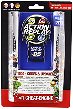 Datel Action Replay Cheat System  3DS/DSi XL/DSi/DS Lite  - DS blue