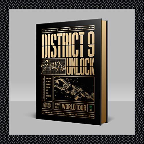 Stray Kids – Stray Kids World Tour District 9: Entsperren in Seoul DVD + Vorbestellvorteil + Extra Fotokarten-Set