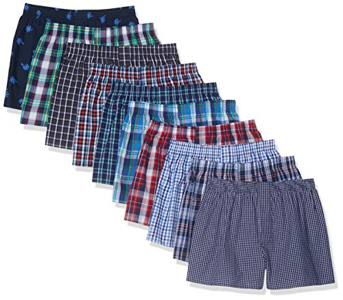 CityLife City Life Boxer Classic Boxershorts, Mehrfarbig Mulitcolour, (Herstellergröße: XX-Large), 10er-Pack