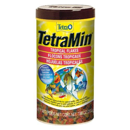 Tetra Tropical Flakes, Nutritional Formula Fish Food with Shrimp, 200g