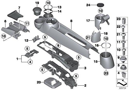 Price comparison product image MINI Genuine Cup Holder Insert Clubman Cabrio R56 R55 R57 R58 R59 51162756159