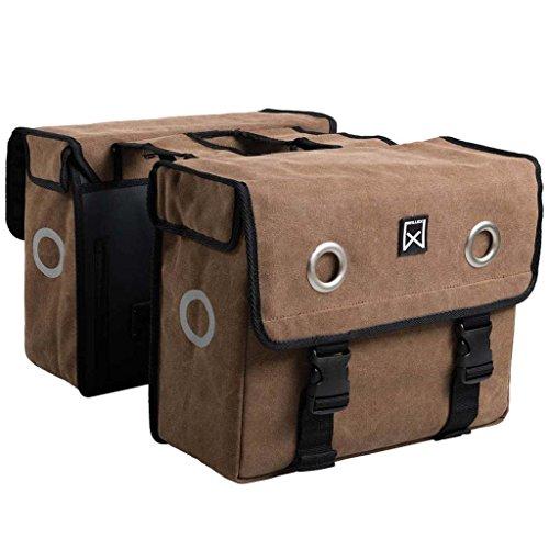 Willex Fahrradtasche Doppel Stoff 40L Packtasche Gepäcktasche Satteltasche