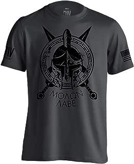 Dion Wear Spartan Molon Labe Military T-Shirt