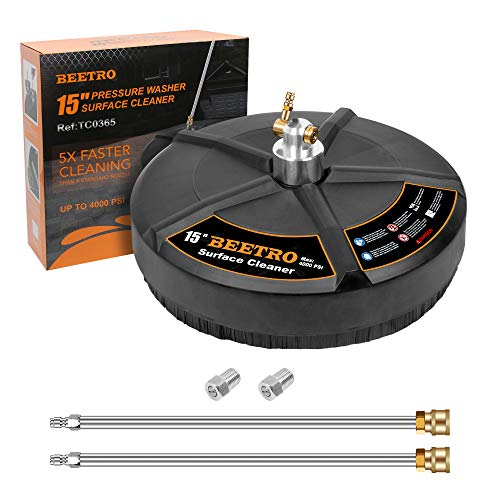 BEETRO 15 inch Surface Cleaner for Gas and Electric...