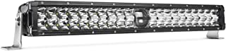 MICTUNING O-Guider 22 Inch 100w LED Light Bar with Laser Light, 12900lm 6000k Combo Work Light Off Road Driving Light
