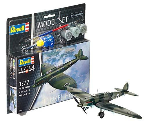 Revell revell63962Heinkel he70–F-2Modelo Set (82-Piece)