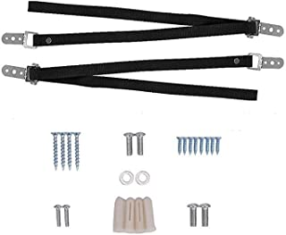 Benliu TV Anti Tip Straps Baby Proof Wall Anchor Kit Earthquake Proof for Flat Screen and Furniture Mounting 2 pcs
