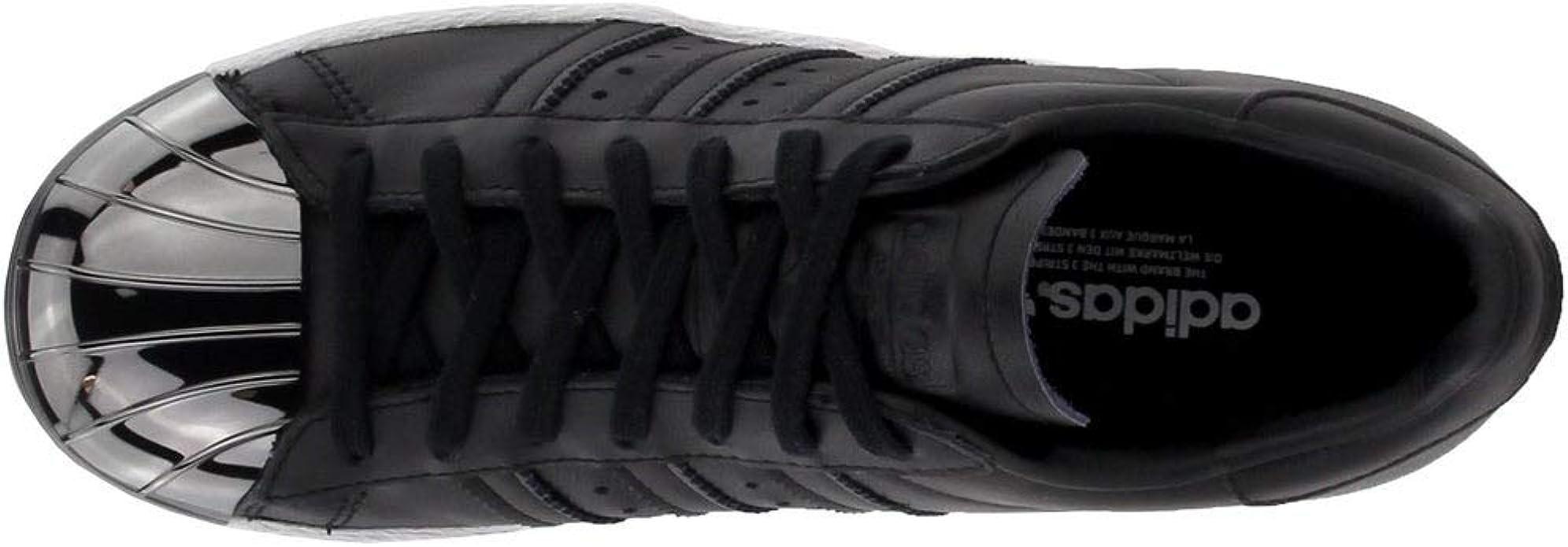 Adidas Superstar 80s - Scarpe da donna con punta in metallo, stile ...