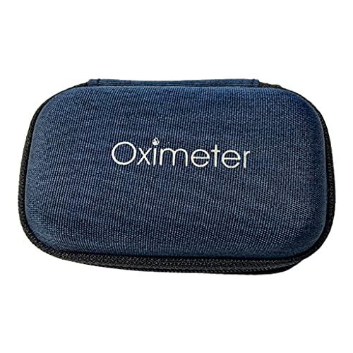DROHOO Organizador de Estuche rígido de Almacenamiento Monitor de oxígeno en Sangre con pulsioxímetro de Dedo, 3
