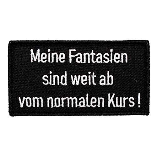 Café Viereck ® Bundeswehr Fun Patch Gestickt mit Klett – 8,5 x 4,5 cm