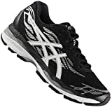 ASICS Gel-Ziruss Femmes Running Trainers T7J6N Sneakers Chaussures (UK 6 US 8 EU 39.5, Black White Silver 9001)