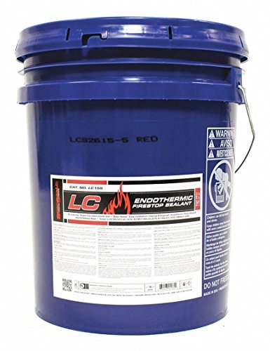 SPECSEAL Fire Barrier Sealant, 5 gal, Red (LC155)