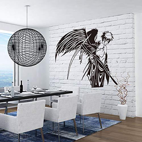 Bleach Poster Moderne Wandaufkleber Pvc Cartoon Kinderzimmer Wasserdichte Stilvolle Bleach Tapete Filmposter Wandbilder Wohnkultur