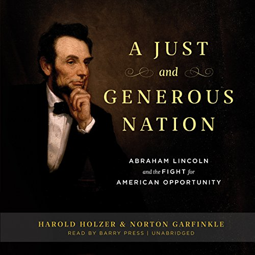 A Just and Generous Nation audiobook cover art