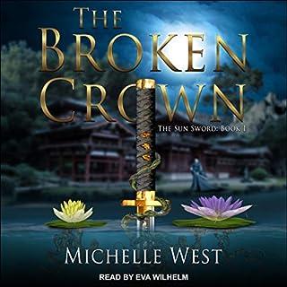 The Broken Crown audiobook cover art