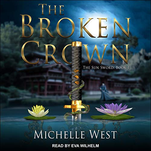 The Broken Crown audiobook cover art