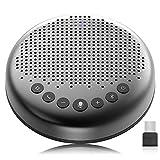 eMeet - Altavoz Bluetooth para conferencias - USB Manos Libres para 5-10 Personas Speakerphone 360...