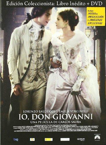 Io, Don Giovanni [DVD] Edición Especial con Libro