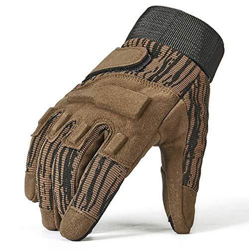 Guanti a Dita intere guanti da uomo guanti da uomo - Verde, L