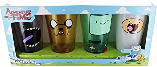 Adventure Time Faces 4 Piece Pint Glass Set