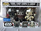 Pack 3 Figuras Pop! Star Wars: Teebo Chirpa Logray Limited