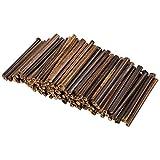 Natural Bamboo Sticks - 100-Pack Bamboo...