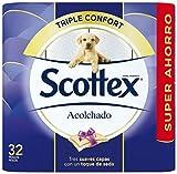 Scottex Acolchado Papel Higiénico - 32 rollos